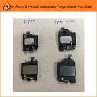 2Pcs/Lot Original Ringer Buzzer Flex For iPhone 11 Pro Max Loud Sound Speaker LoudSpeaker Flex Cable Repair Parts