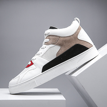 Men's High Top Ankle Shoes Casual Fashion Breathable Sneaker