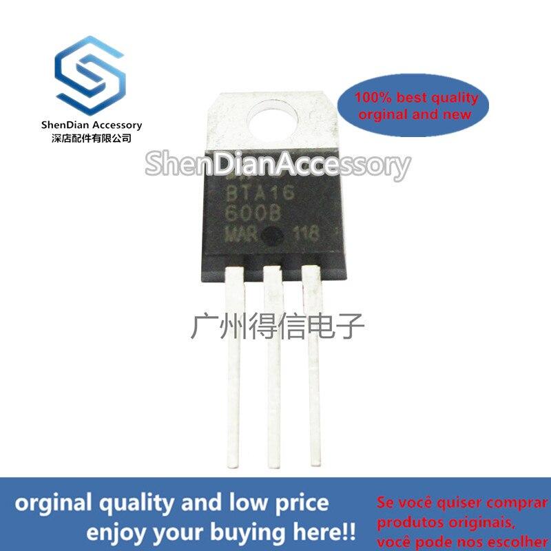 10pcs 100% New And Orginal BTA16-600B TO-220 STANDARD TRIACS In Stock