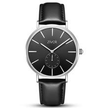 Zivok Brand Fashion Casual Quartz Men Watches Classic Simple Waterproof Leather Belt Smart Wristwatch Couple Clocks