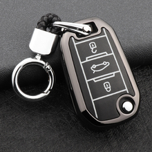2 buttons silicone car key case cover flip remote car key holder shell fob for citroen c2 c3 c4 c8 peugeot 308 207 307 3008 5008 Car Key Cover Case For Peugeot 301 308 308S 408 2008 3008 4008 508 5008 107 308sw 407 208 For Citroen C4L C4 C5 C3 C8 DS3 CACTUS