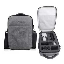 Storage Shoulder Bag For DJI Mavic Mini Drone Carrying Case Protective Backpack Handbag For Mavic Mini Quadcopter Accessories gizcam nylon carrying storage bag handbag travel protective case pouch for dji spark drone helicopter