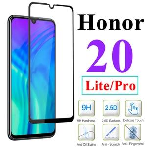 Image 1 - Tempered Glass Honor 20 Lite Light For Huawei Pro Armor Xonor View 20 Screen Protector Huawey Hono 20Lite Honer 20Pro V20 Onor V