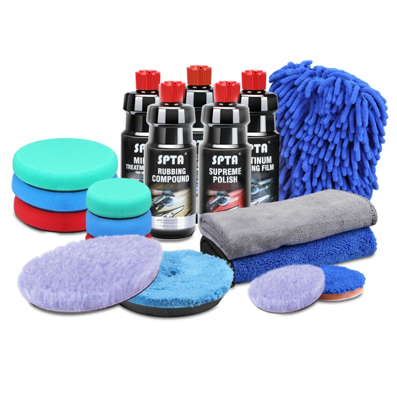 SPTA 120ml/500ml Polishing Paste Auto Paint Scratche Removal Abrasive Rubbing Compound Car Polishing Glazing Gringding Paste