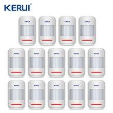 Oryginalny Kerui bezprzewodowy inteligentny czujnik ruchu PIR ruchu czujnik dla Wifi GSM PSTN System alarmowy