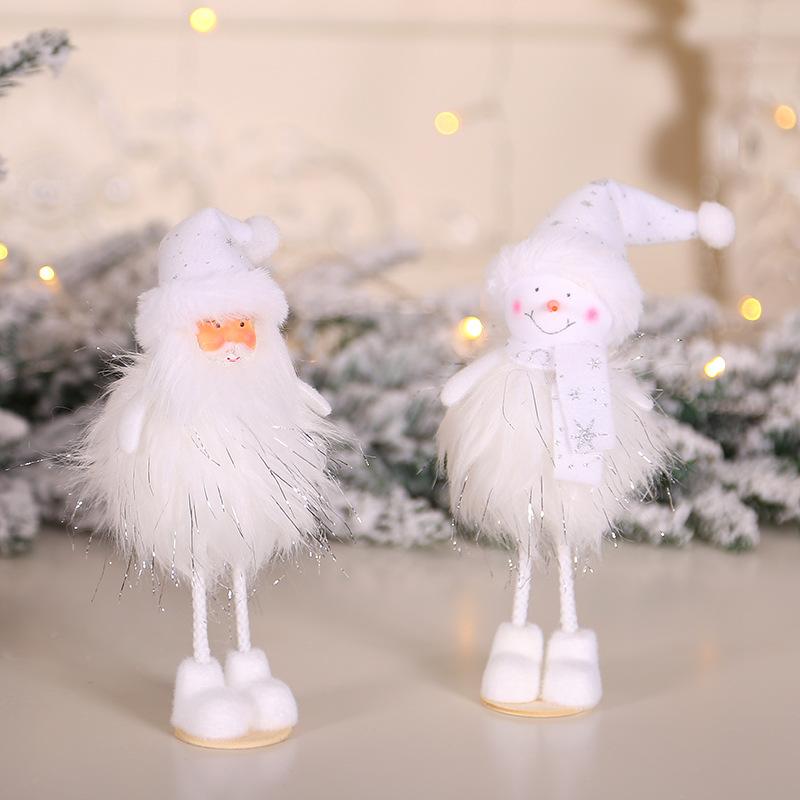 2020 New Year Gift Cute Christmas Angel Doll Xmas Tree Ornament Noel Deco Christmas Decoration for Home Natal Navidad 2019 Decor 32