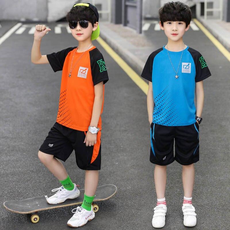 Boys Summer Round-Neck Clothes