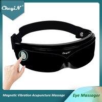 CkeyiN Elektrische Auge Massager Akupunktur Punkte Vibration Magnetische Massage Reduzieren Augenringe Kopf Stress Relief Drahtlose 48