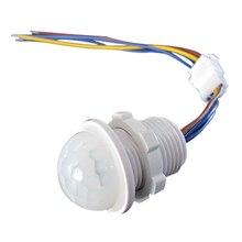 110v 220v Home Indoor Outdoor Infrared Light Motion Sensor 45s Time Delay Home Lighting PIR Switch LED Sensitive Night Lamp