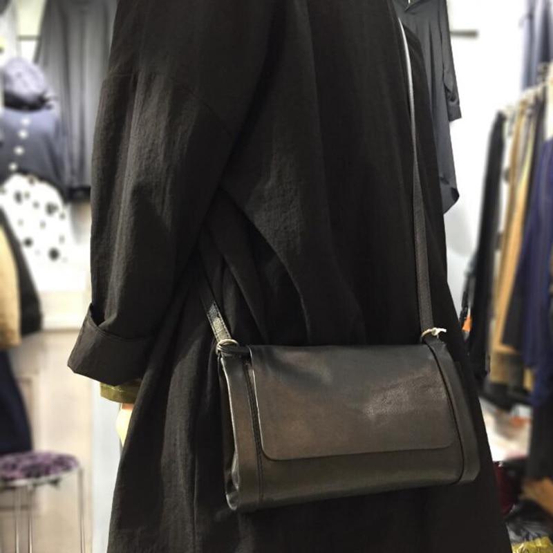 Small Shoulder Bags Cowhide Leather Messenger Bag Designer Brand Black Women Handbags Purse Clutch