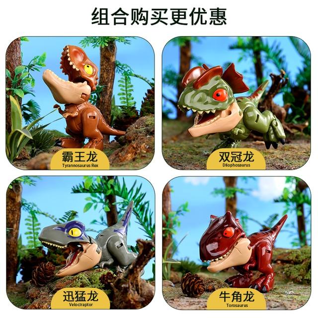 Transform Dinosaur Robot Toy Jurassic Park, Transformer T Rex Educational Animals Dinosaurs Toys for Children Boys 2