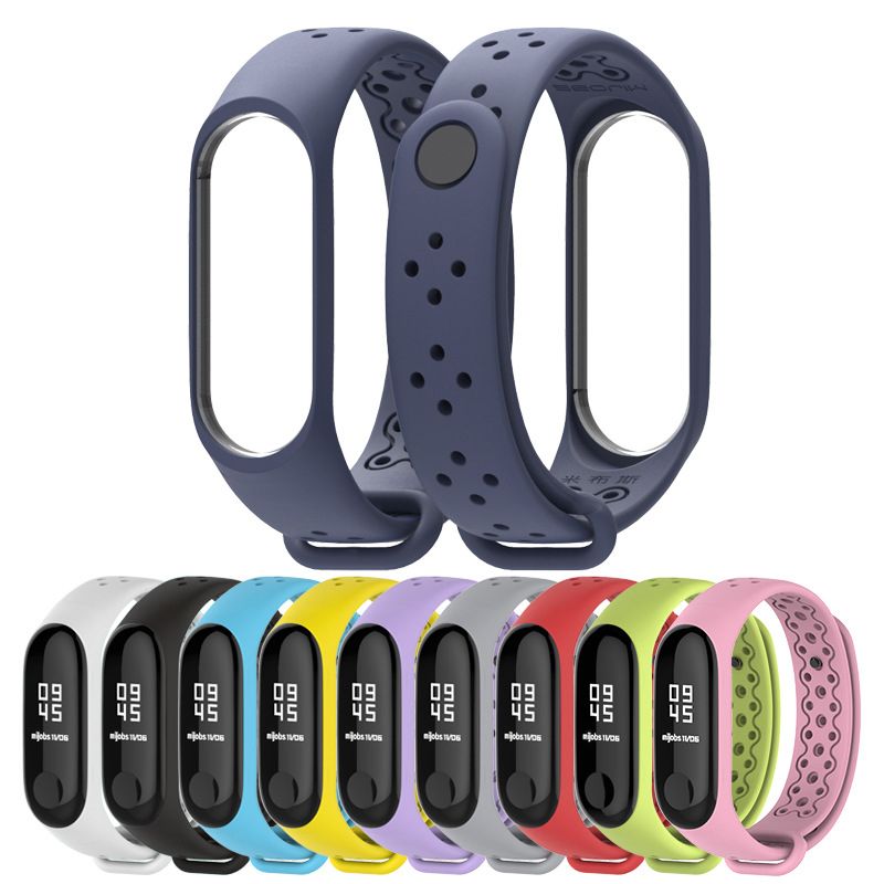 For Mi Band 4 Strap Wrist Strap For Xiaomi Mi Band 4 3 Sport Silicone Bracelet For Xiaomi Mi Band 3 Smart Watch Bracelet