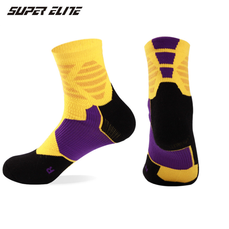 TaoBo Genuine SUPER ELIE Kobe Legend Never Dies Basketball Socks Non-slip Durable Skateboard Towel Bottom Socks Stocking