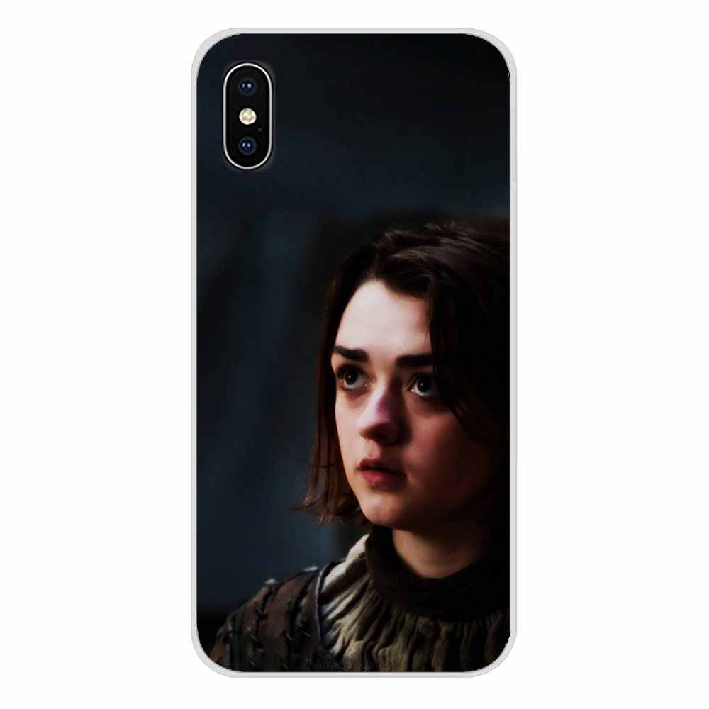 Untuk OnePlus 3 5 6 7 T PRO Nokia 2 3 5 6 8 9 230 2.1 3.1 5.1 7 PLUS 2017 2018 Aksesoris Shell Mencakup Game Of Thrones Arya Stark