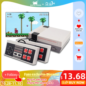Image 1 - DATA FROG TV Video Game Console Built In 620 Games 8 Bit Retro Game Console Handheld Gaming Player Best Gift free shipping