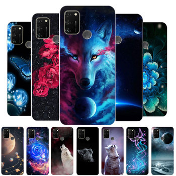 For Huawei Honor 9A Case Honor 9A 2020 Bumper Soft TPU Silicone Cover For Huawei Honor 9A MOA-LX9N 9 A Honor9A Cases Cartoon фото