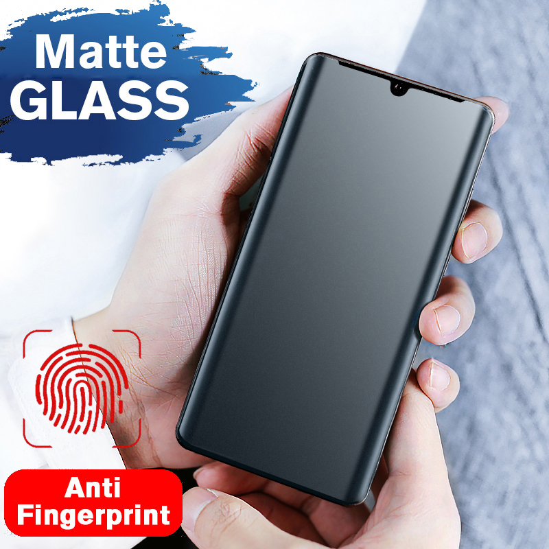 Matte Screen Protector For Samsung S20 Ultra Note 10 8 9 S8 S9 S10 Plus UV Liquid Glue Anti Peep Privacy Frosted Tempered Glass