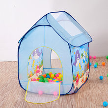 Children Accounting Beach Game Tent Cartoon Underwater World Fun Tent Game House(China)