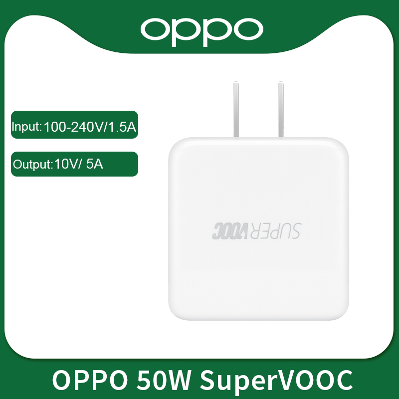 Realme OPPO 50W SuperVOOC Charger For Oppo Find X2 Pro Reno 3 Pro R17 Pro