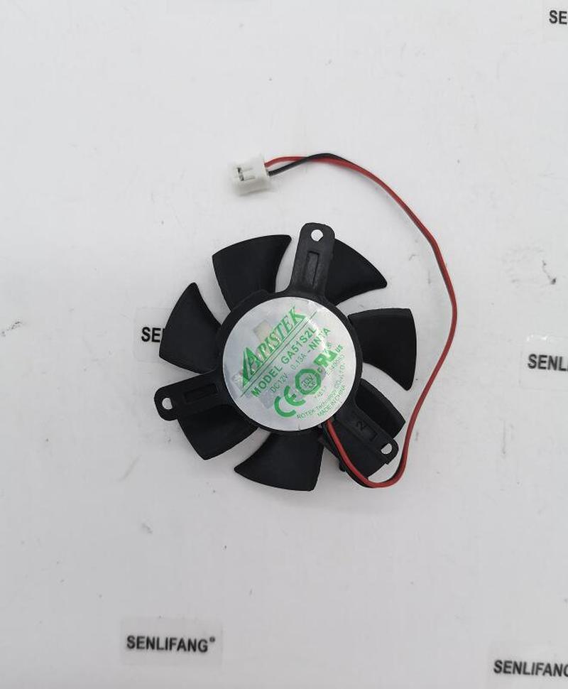 For ROTEK GA51S2L-NNTH 12V 0.13A 2 Line Graphics Fan
