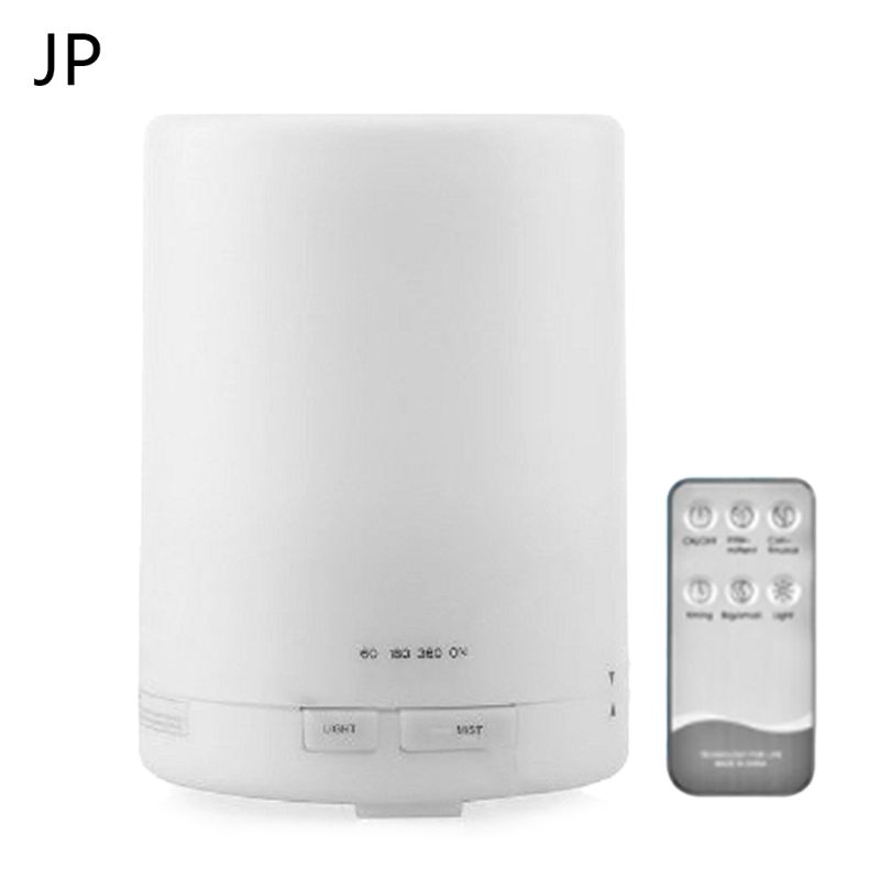EU JP UK US Remote Control Ultrasonic Air Aroma Humidifier LED Electric Light Aromatherapy Oil Diffuser