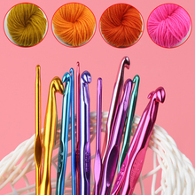 mylb 12pcs/set New Multicolor Aluminium 2mm-10mm Crafts Sewing Tools Home Accessories