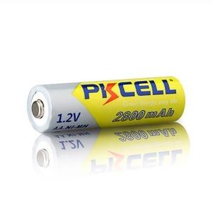 Image 3 - PKCELL Ni Mh Batterie AA 2600mAh 2800mAh 1.2V NiMh Batteria Ricaricabile 2A Delle Cellule di Batteria Per Torcia Camera giocattoli