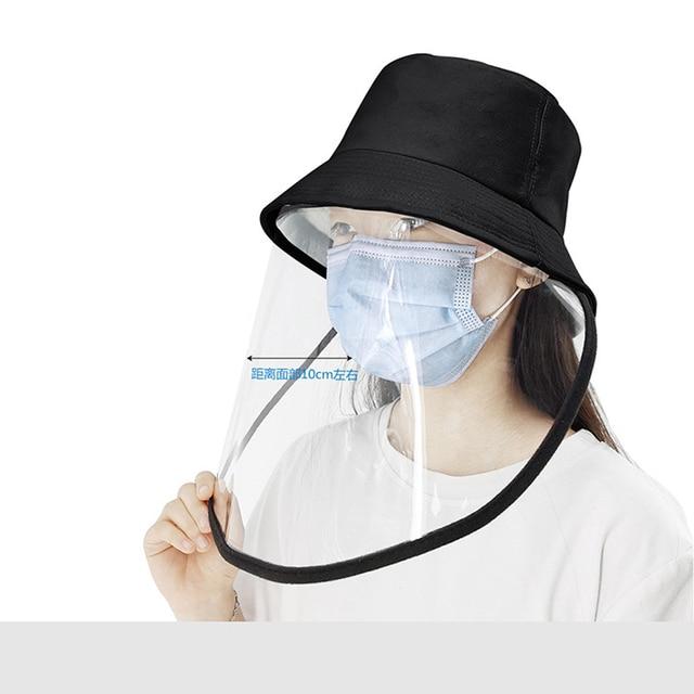 Safety Helmet Mascarillas Face Shield Goggle Protection Anti Saliva Splash Schutzmaske Mascherina Mask Plegable Hard Hat Masque 1