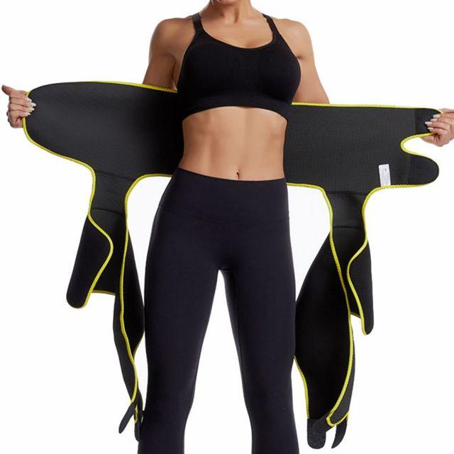Waist Leg Trainer Women Thigh Trimmer Leg Shapers Slender Slimming Belt Neoprene Sweat Slim Shapewear Toned Muscles Slimmer Wrap 5