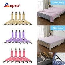 4 Giường Kẹp Ga Giường Kẹp Co Giãn Điều Chỉnh Cách Đi Dây Đeo Đựng Chăn Ga Gối Kẹp Cho Giường Nệm Nhanh