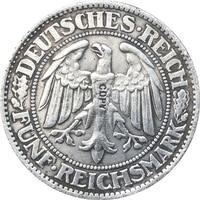 독일 동전 1927-1933 다른 날짜 36 동전 복사