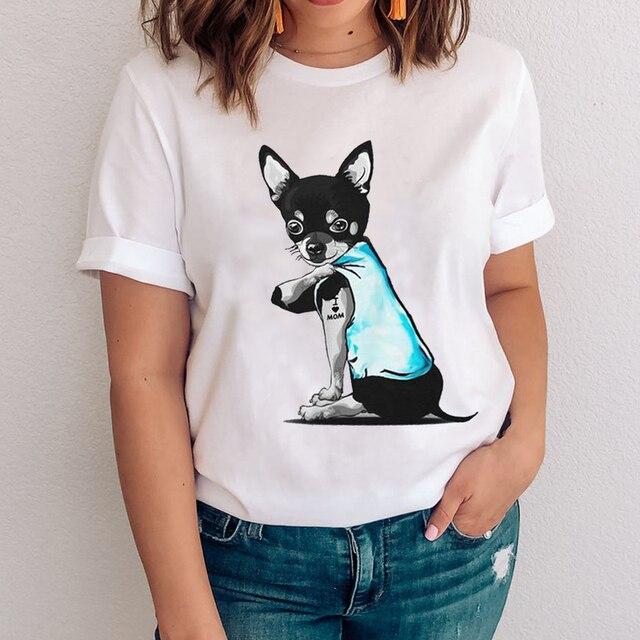 I Love Mom - Women's T-Shirt With Logo  1