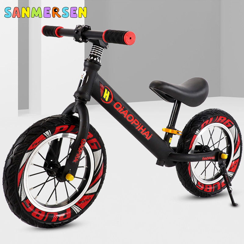 Upgrade 12'' Kids Bike Scooter Without Pedals Slider Super Light Weight Bicycle Children's Balance Car 2-6 years Baby Toy Bike