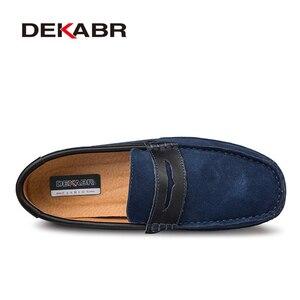 Image 2 - Dekabr Plus Size 47 Lente Zomer Casual Schoenen Mannen Ademende Mannelijke Slip Op Schoeisel Loafers Designer Mannen Schoenen Sapatos Homens
