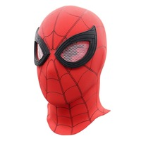 Spider Man Homecoming Mask PVC Superhero Helmet Full Face Costume Halloween Party Props Luxury Spiderman Mask Cosplay
