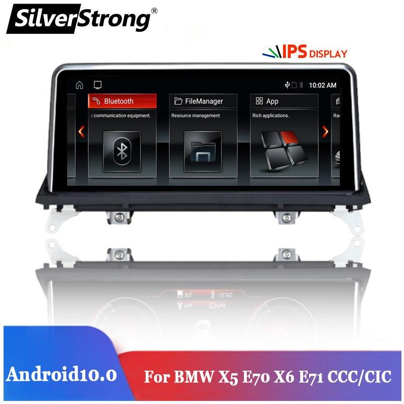10,25 ''IPS,Car Navi Android,para BMW X5,E70,X6,E71,2007-2013,CCC/CIC Android 10, мультимедиа, авто Navi Оригинальное обновление