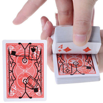 New Magic Prop Cartoon Cardtoon Deck Pack Playing Card Toon Animation Prediction Funny Magic Magic Tricks Gimmick image