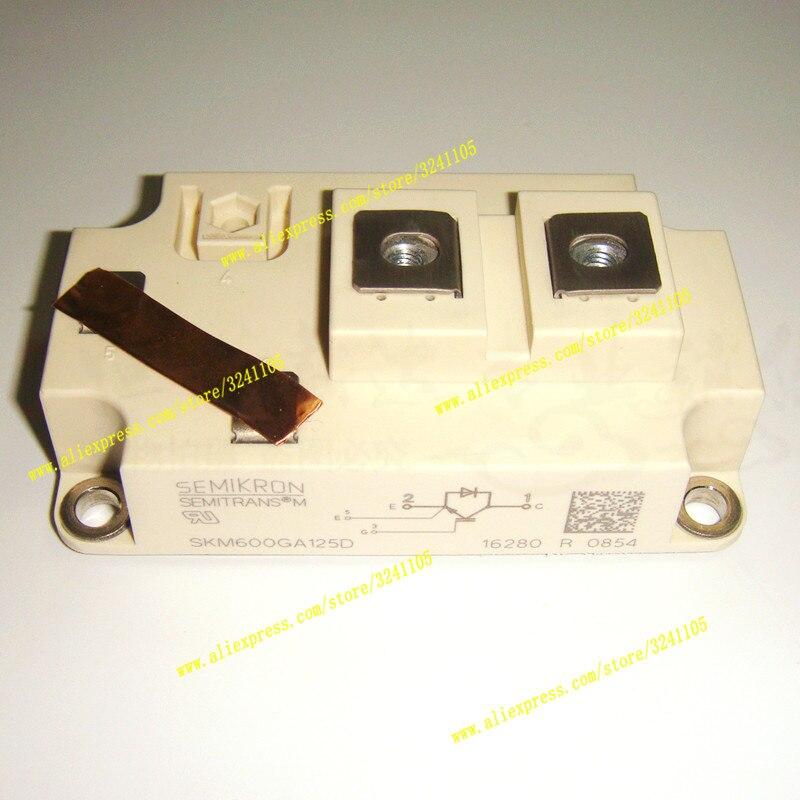 Free Shipping NEW  SKM600GA125D MODULE