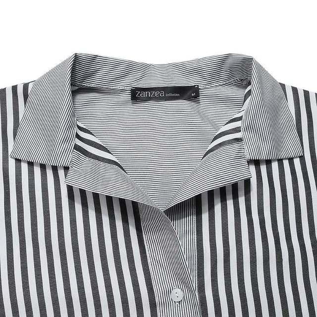 wonderful maxi dress, stripes, long sleeves, pockets and comfort 6