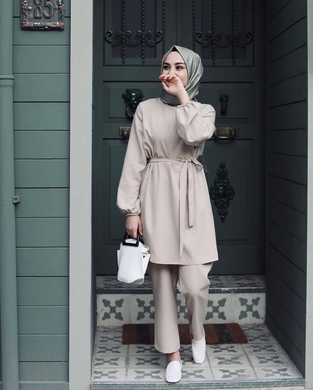 Eid Two piece Muslim Sets Abaya Turkish Tops Pants Vetment Femme Hijab Dress Abayas For Women