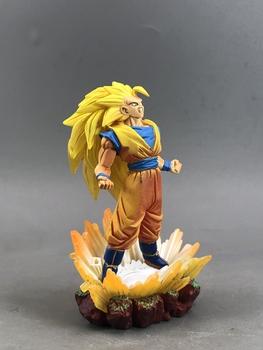 BANDAI figurka postaci z Dragon Ball prawdziwy pomnik Super trzy syn Goku wybuch 3 scena duże jajko Ex Cashapou zabawkowy Model tanie i dobre opinie 7-12y 12 + y CN (pochodzenie) PIERWSZA EDYCJA Produkty na stanie Unisex dragon ball figure Wyroby gotowe Gotowy żołnierzyk