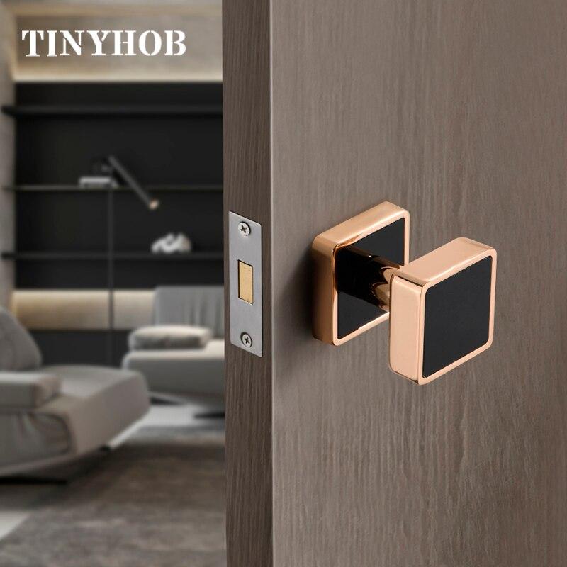 European Style Zinc Alloy Invisible Door Lock Background Wall Hidden Door Handle Single sided Door Lock Simple Furniture Handle|Door Locks| |  - title=