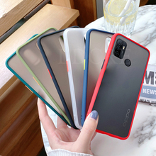 For OPPO A53 Case Simple Frame soft Matte Armor Bumper Case For OPPO A53S Cover For OPPO A32 2020 OPPO A72 A52 A92 A92S A93 A91 cheap HATOLY CN(Origin) Pouch Plain Simple Frame Matte Armor Case For Phone Case Coque Funda Carcasa Protect from scratches fingerprints falls and dust Tough and durable