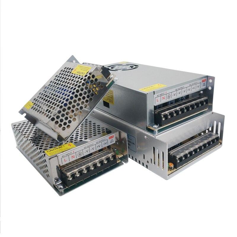 3V 9V 15V 18V Power Supply 3A 5A 10A Lighting Transformers 3 9 15 18 V Volt Power Adapter Supply 220V To 12V LED Tape Lamp