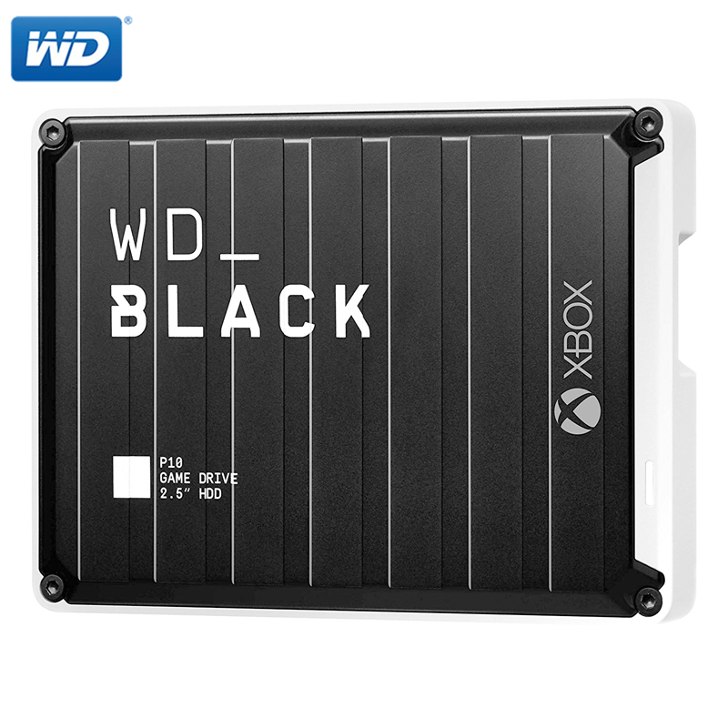 Western Digital WD Black 2TB 4TB 5TB P10 Game Drive Compatible With PS4, Xbox One, PC, Mac Black 2.5\ Mobile Hard Drive