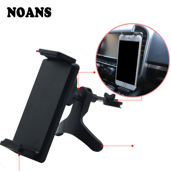 NOANS Car Tablet Mobile Phone Bracket GPS Holder Accessories For Hyundai Solaris i30 Tucson Kia rio ceed sportage Peugeot 206 image