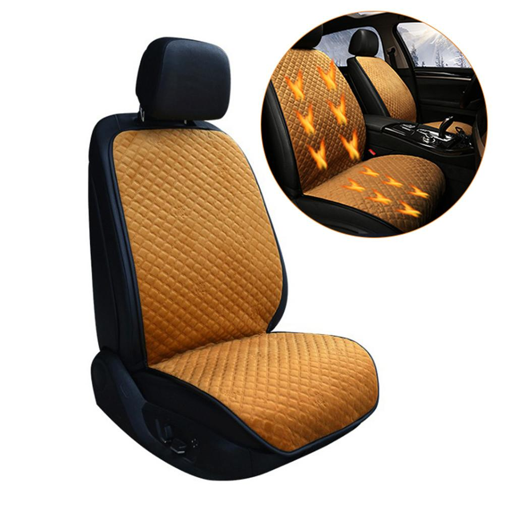 1pcs 12v Car Auto Front Seat Heated Cover Temperature Controller Winter Warmer Pad Car Heated Seat Cushion