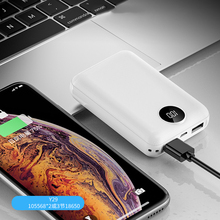Mobile power 10000mAh dual USB mobile phone external battery fast charging for iphone xiaomi mi portable charger mi ni powerBank