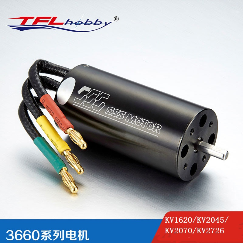SSS 3660 KV1620/KV2045/KV2070/KV2726(for Genesis Dual Motor) Brushless motor w/o water cooling for Electric RC Boat