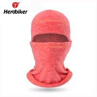 Herobiker motocicleta máscara balaclava moto máscara à prova de frio outono inverno airsoft paintball capacete boné de lã térmica máscara de esqui